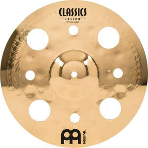 MEINL CC12TRS-B Trash Splash Cymbal 12 Zoll Classics Custom Becken, brilliant