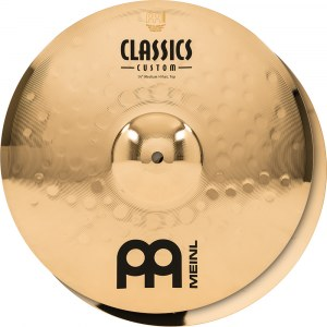 MEINL CC14PH-B Power HiHat Cymbal 14 Zoll Classics Custom Becken, brilliant