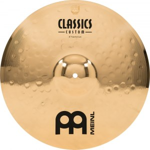 MEINL CC18PC-B Power Crash Cymbal 18 Zoll Classics Custom Becken, brilliant
