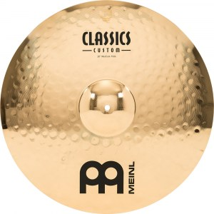 MEINL CC20PR-B Power Ride Cymbal 20 Zoll Classics Custom Becken, brilliant