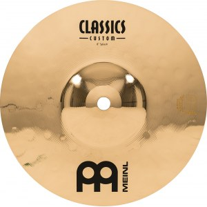 MEINL CC10S-B Splash Cymbal 10 Zoll Classics Custom Becken, brilliant