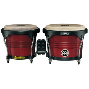 MEINL FWB190CR-M Free Ride Holz Bongo, cherry red, matt