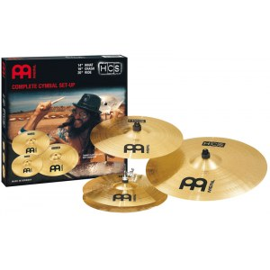MEINL HCS CS141620 Cymbal Set 14-16-20 Zoll HCS Beckenset, regular