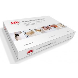 MEINL MYO-CAJ-OV Make your own Cajon Kit Cajon Bausatz, natur mit Ovangkol Frontplatte