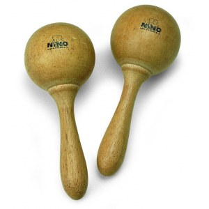 MEINL NINO8 Wood medium Maracas, natur