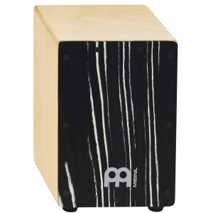 MEINL SCAJ1NT-SO Mini Cajon, striped onyx/natur