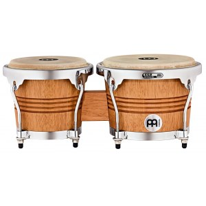 MEINL WB200SNT-M Wood Bongo, satin natural matt