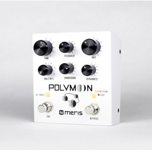 MERIS Polymoon Super-Modulated Multiple Tap Delay Effektpedal