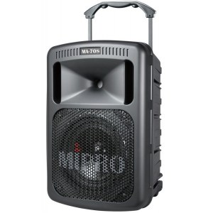 MIPRO MA-708D/CD Batterie-PA-System 180W/8Zoll Batterie PA-System inkl. CD Player