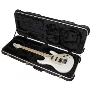 MUSIC MAN Silhouette Special HSS MN WHP E-Gitarre inkl. Koffer, white pearl