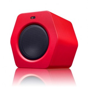 MONKEY BANANA Turbo 10s red aktiv 110W/10Zoll Studio-Subwoofer