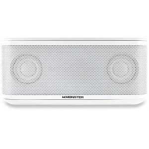 MONSTER Clarity HD Micro White Bluetooth Speaker Multimedia-Lautsprecher