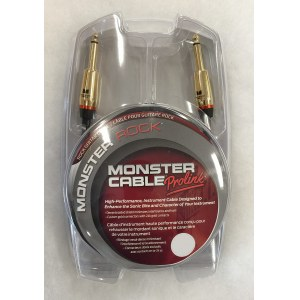 MONSTER Cable Rock II 3 Instrumentenkabel Klm-Klm 0,9m (MO600625)