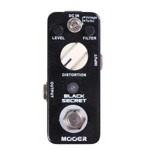 MOOER MDS-1 Black Secret Distortion Effektpedal