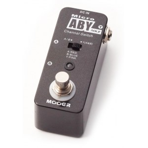 MOOER MAB2 ABY MKII, ABY Box Schalter