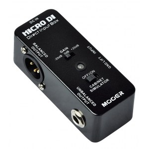 MOOER MDI-1 Micro DI Direct Input Box