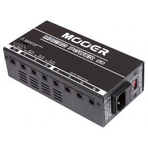 MOOER MPS-8 Macro Power Isolated PSU Multi-Netzteil für Effektpedal