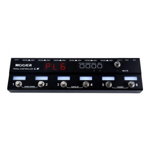 MOOER PC-L6 Controller Loop 6 6-fach Loop-Switcher