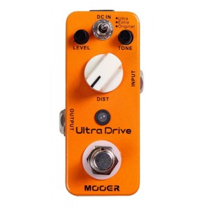 MOOER MDS-6 Ultra Drive Distortion Effektpedal