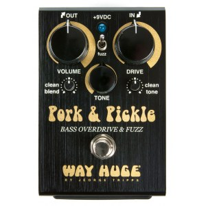 WAY HUGE 214 Pork & Pickle Bass Overdrive Fuzz Effektpedal