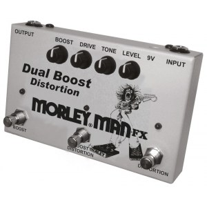 MORLEY MAN FX-2 Dual Distortion Boost Effektpedal