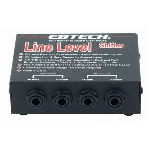 EBTECH Hum Line Level Shifter LLS 2 Line Level Shifter