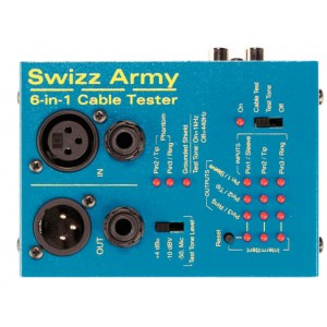 MORLEY EBT SWIZZ CT Swizz Army 6-in-1 Kabeltester