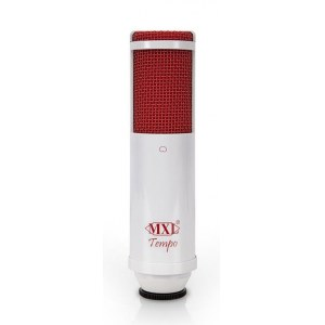 MXL Tempo WR White/Red USB Grossmembranmikrofon mit USB-Audiointerface