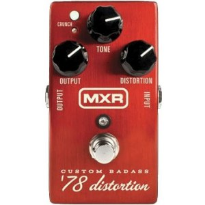 MXR M78 Custom Badass Bass Distortion Effektpedal