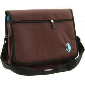 NAMBA GEAR Kucha iPad Messenger Bag brown/blue Multifunktionstasche