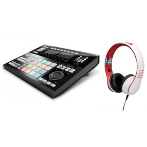 NATIVE INSTRUMENTS Maschine Studio BL / HMX-05 WH Hardware/Software-Groovebox inkl. Kopfh�rer