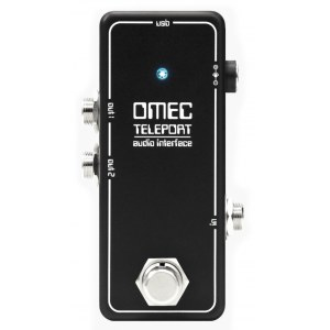 ORANGE OMEC Teleport USB Audio-Interface im Effektpedal-Format