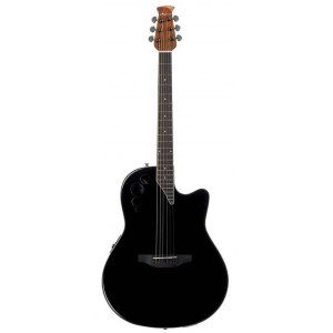 OVATION AE44II-5 Applause Roundback Elektro-Akustik-Gitarre, black