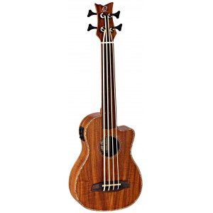 ORTEGA Caiman-BS-GB Bass/Bariton Ukulele, natural gloss