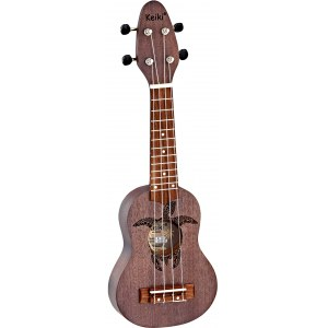 ORTEGA KEIKI K1-CO Sopranino Tortiose/Turtle Ukulele, coal