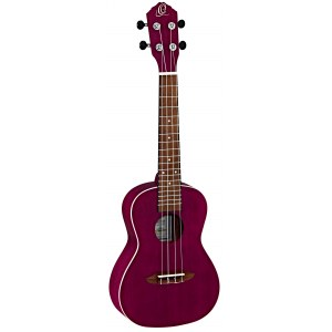 ORTEGA RURUBY Earth Konzert-Ukulele, transparent purple