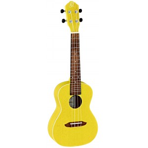 ORTEGA RUSUN Earth Konzert-Ukulele, transparent yellow