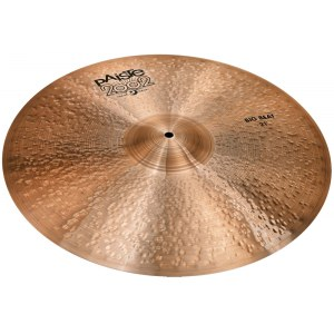 PAISTE 2002 Black Big Beat Crash/Ride Cym. 21 Zoll Becken, bronze