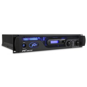 PEAVEY IPR2-3000 DSP Power Amp 2x1450W/2Ohm Class-D Leistungsendstufe / Installationsendstufe