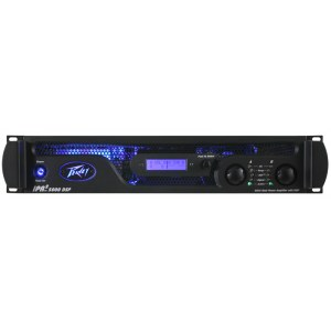 PEAVEY IPR2-5000 DSP Power Amp, 2x1700W/4Ohm Class-D Leistungsendstufe / Installationsendstufe
