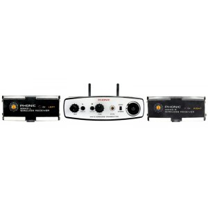 PHONIC WMSYS-2 Stereo (f�r Performer Serie) Drahtlos-Audio�bertragungssystem