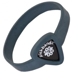 PICKBANDZ Armband Youth Timberwolf Gray Silikonarmband für Plektrum / AL