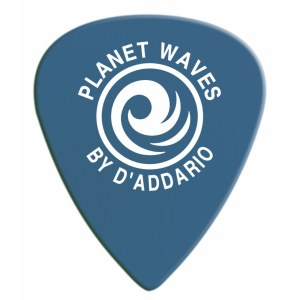 PLANET WAVES 6DBU5-10 Duralin Med. Heavy Pack 1mm Plektrum, blau (10 Stück)