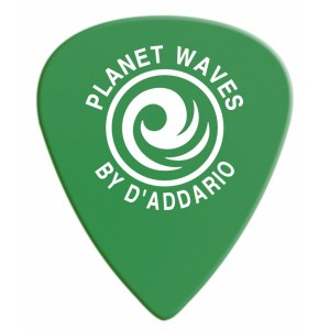 PLANET WAVES 6DGN4-10 Duralin Medium Pack 0,85mm Plektrum, grün (10 Stück)