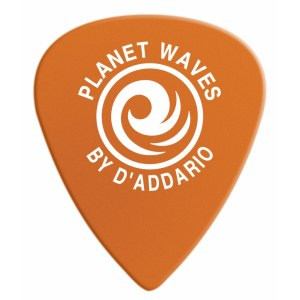 PLANET WAVES 6DOR2-10 Duralin Light Pack 0,6mm Plektrum, orange (10 Stück)