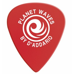 PLANET WAVES 6DRD1-10 Duralin Super Light 0,5mm Plektrum, rot (10 Stück)