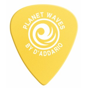 PLANET WAVES 6DYL3-10 Duralin Light-Medium 0,7mm Plektrum, gelb (10 Stück)