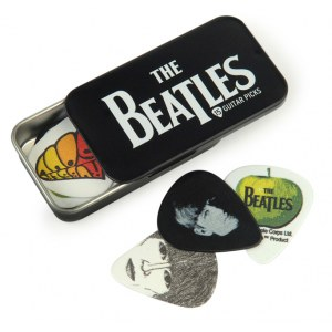 PLANET WAVES Beatles Pick Box Logo (15er) Plektren inkl. Sammlerbox