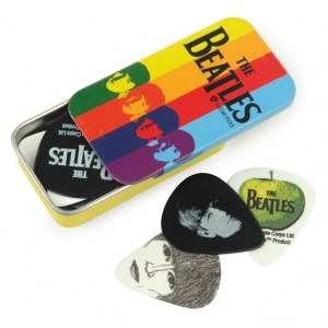 PLANET WAVES Beatles Pick Box Stripes (15er) Plektren inkl. Sammlerbox
