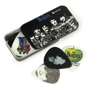 PLANET WAVES 1CAB4-15BT3 Beatles Pick Sgt.Peppers Plektren inkl. Sammlerbox (15er)